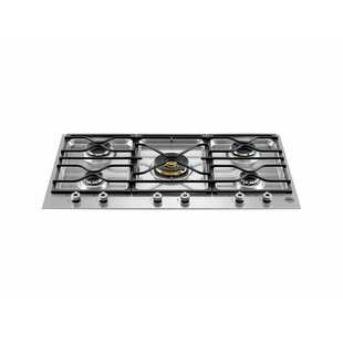 Pro Series 35'' Gas Cooktop with 5 Burners