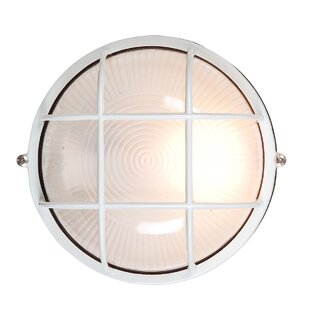 Beachcrest Home Rivka Outdoor Bulkhead Light
