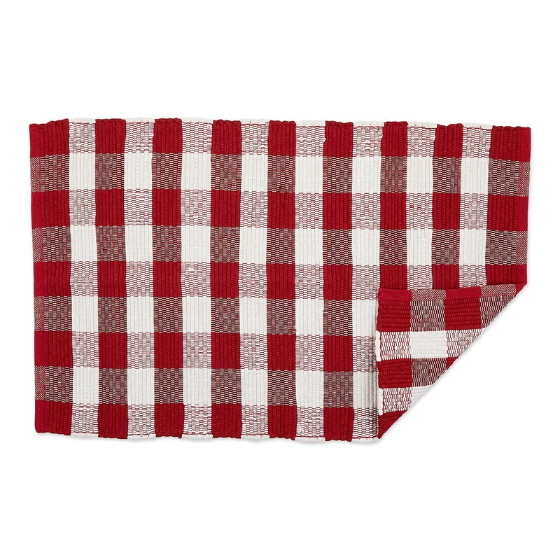 Gracie Oaks Tomball Buffalo Check Rag