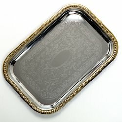 Serving Tray (Set Of 12) by Astoria Grand Comparison