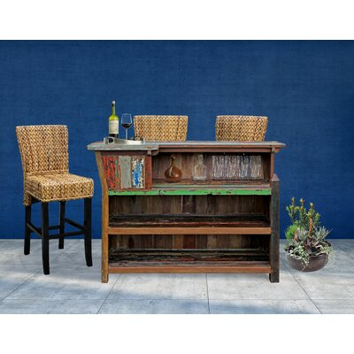 Rolando Bar With Wine Storage by Longshore Tides Today Sale Only