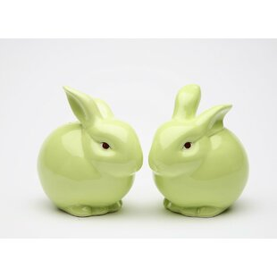 Rosy Rabbit Salt & Pepper Shaker (Set of 2) By Cosmos Gifts