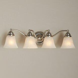 Budd 4-Light Vanity Light by Charlton Home