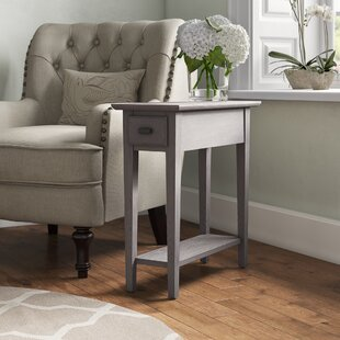 Christman End Table With Storage