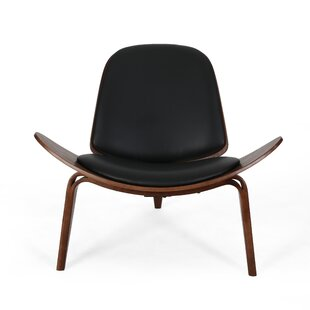 Bogle Mid-Century Modern Shell Side Chair by Corrigan Studio