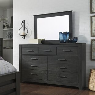 Wade Logan Talon 7 Drawer Dresser with Mirror