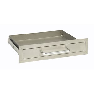 Stainless Steel Single Drawer