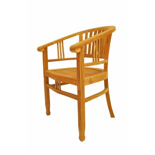Anderson Teak Captain Teak Patio Chair