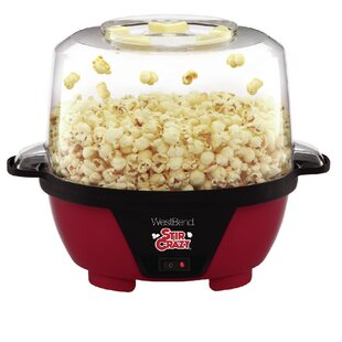 6 Oz. Stir Crazy Hot Air Popcorn Popper