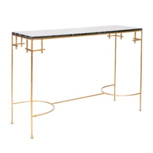 Hammered Console Table by Worlds Away
