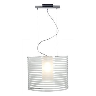 Check Prices Olivas 1-Light Pendant By Wrought Studio