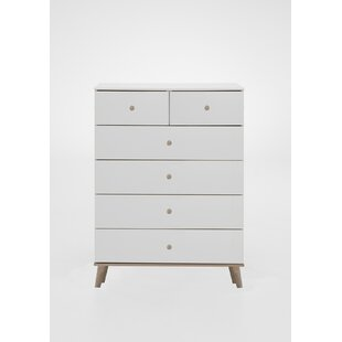 Bergen 6 Drawer Chest Of Drawers By Wimex