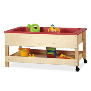 Sand-n-Water Table With Shelf By Jonti-Craft