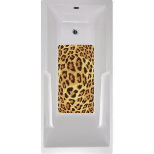 Kahuna Grip Leopard Bath Tub and Shower Mat