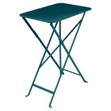 Bistro Folding Steel Side Table