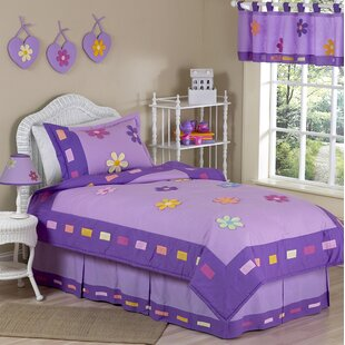 Danielle's Daisies 4 Piece Twin Comforter Set