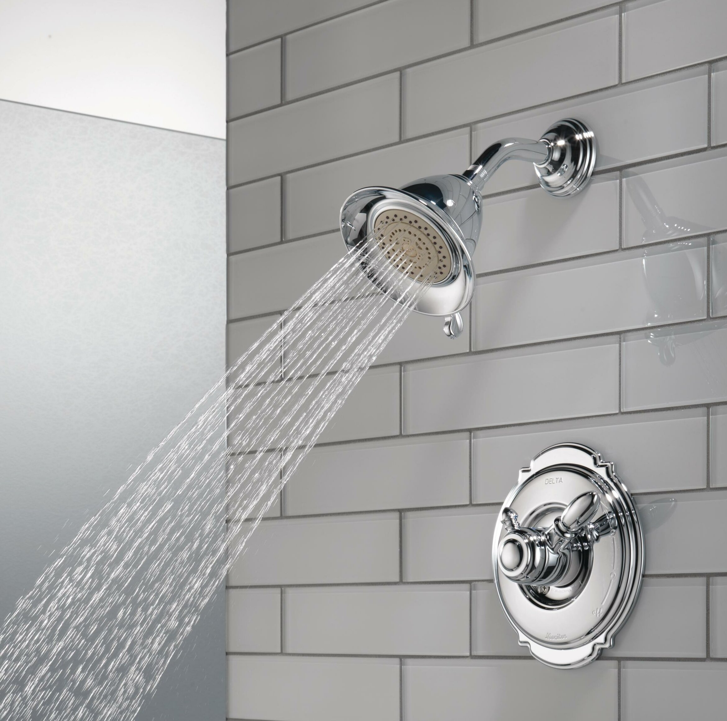 Delta Victorian Pressure Balanced Diverter Shower Faucet Trim with ...
