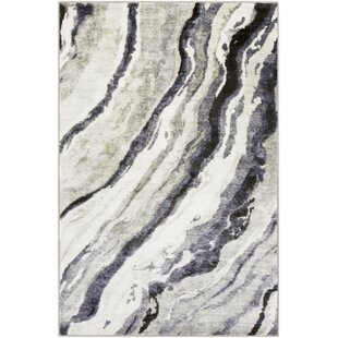 Purchase Dilbeck Gray/Black Area Rug ByWilliston Forge