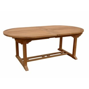 Rosecliff Heights Farnam Extendable Teak Dining Table