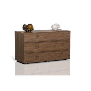 Brayden Studio Boyden 3 Drawer Dresser