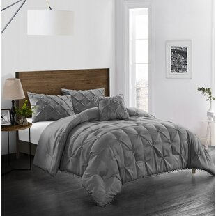 Braham Comforter Set by House of Hampton Today Only Sale