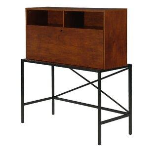 Nil Drop-Front Storage Secretary Desk By Ebern Designs