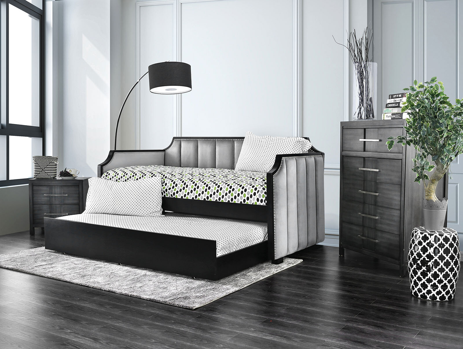 - Rosdorf Park Monahan Twin XL Daybed With Trundle Wayfair