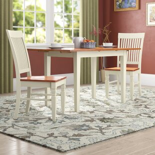 Holoman 3 Piece Extendable Breakfast Nook Dining Set by Three Posts