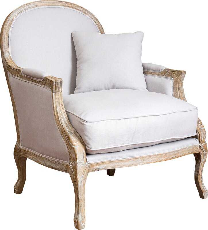 Wonderful MacArthur Weathered Armchair