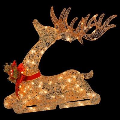 Resting Reindeer Lighted Display