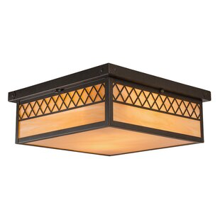 Bloomsbury Market Marquard 2-Light Flush Mount