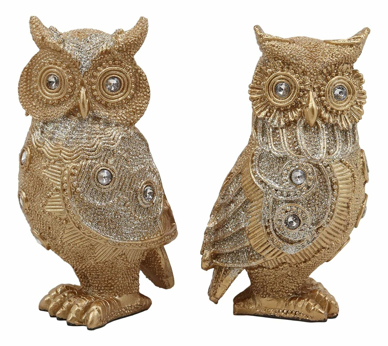 Astoria Grand Baek Royal Golden Owl Couple Wayfair