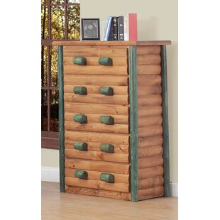 Chelsea Home Furniture Cheshire Super 5 Drawer Chest Image