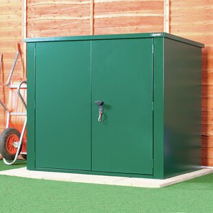Secure Store 5 Ft. W X 3 Ft. D Pent Metal Tool Shed By Asgard