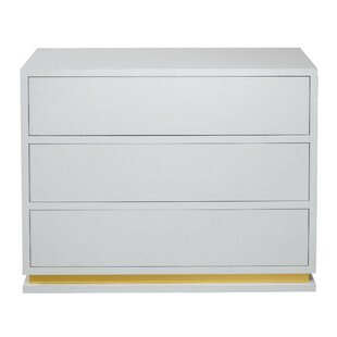 Flannigan 3 Drawer Chest By Ebern Designs