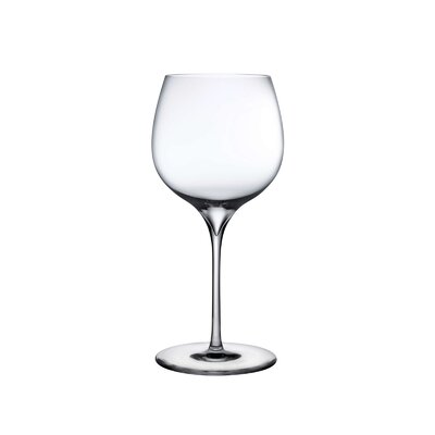 NUDE Dimple Set of 2 Lead Free Crystal Rich White Wine