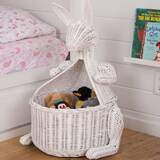 Kangaroo Wicker Basket by Harriet Bee