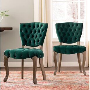 Boyles Upholstered Dining Chair (Set Of 2) by Willa Arlo Interiors 2019 Sale