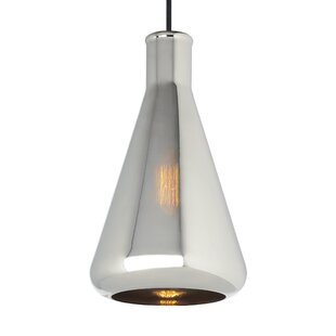Orren Ellis Cerna 1-Light Cone Pendant