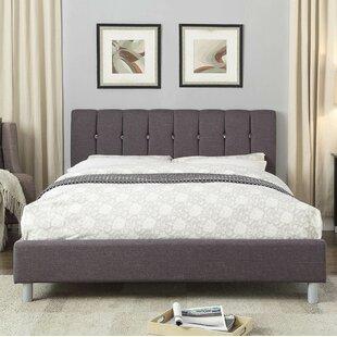 Brayden Studio Berube Queen Upholstered Platform Bed