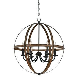 Willa Arlo Interiors Joon 6-Light Globe C..