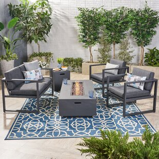 Naveen 5 Piece Sofa Seating Group with Cushions by Latitude Run