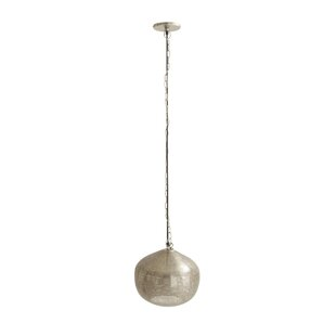 Cole & Grey 1-Light Globe Pendant
