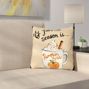 Stalter Pumpkin Spice Throw Pillow