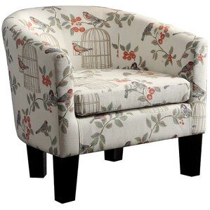 Brookhill Barrel Chair by Charlton Home