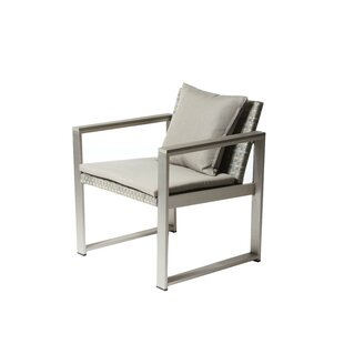Tunney Chair with Cushion by Rosecliff Heights