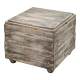 Daulton Solid Wood End Table by Rosecliff Heights