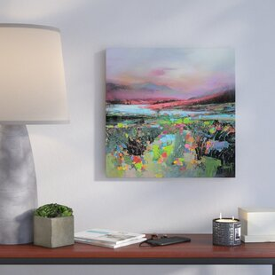Highland Colour by Scott Naismith Painting Print on Wrapped Canvas by Brayden Studio