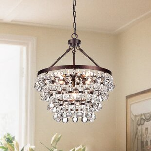 Giovanni 5-Light Crystal Chandelier by Ho..