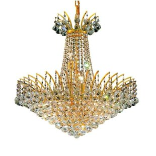 Phyllida 11-Light Empire Chandelier by Everly Quinn